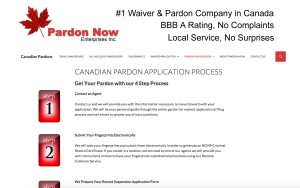 CanadaPardonsforusTravel.com Legal Services Website Project