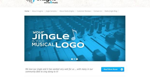 ImagineWordsandMusic.com :: Radio Jingle Website
