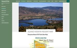IslandViewRVresort.com Resort Website Project