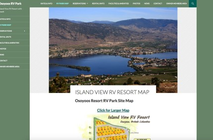 IslandViewRVresort.com :: Resort Website