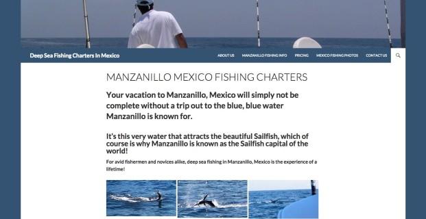 DeepSeaFishingChartersMexico.com :: Travel Website