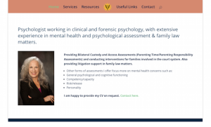 BCpsychology Website Project for Counselling & Consulting Legal