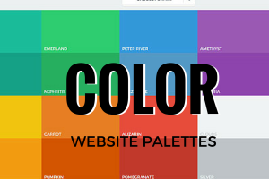 Color Palettes for Website Design