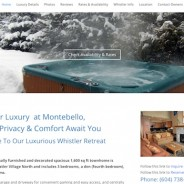 LuxuryWhistlerAccommodations.com :: Responsive Vacation Rental Site