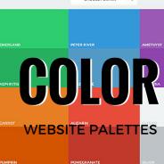 Color Palette Samples for Website Design